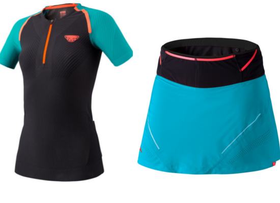 Dynafit Ultra S- Tech Tee und Ultra 2i n 1 Skirt