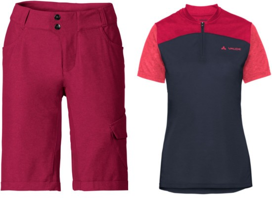 Vaude Tremalzo Shirt und Shorts